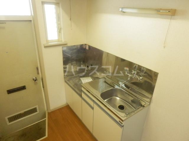 ラビアン6号館 103号室のキッチン