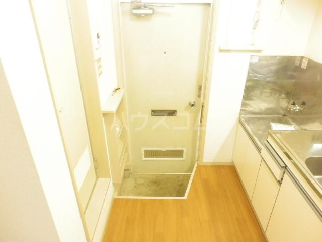 ラビアン6号館 103号室の玄関
