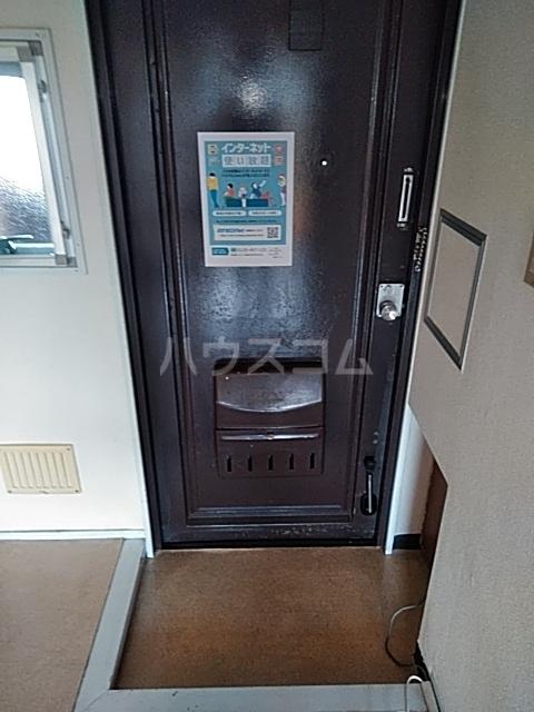 松原ハイツ 207号室の玄関