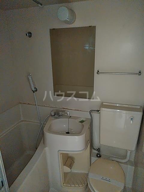 松原ハイツ 207号室の風呂